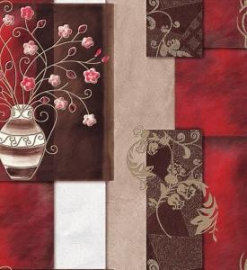 Giấy Dán Tường Soho 5586-2 Clara - Cherry Red