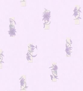 Giấy Dán Tường Soho 5595-3 Feather - Purple