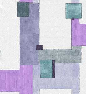 Giấy Dán Tường Soho 5612-2 Modern Quilt - Purple